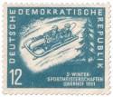 Stamp: Zweierbob Meisterschaft Oberhof 1951