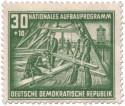 Stamp: Dachdecker (Aufbauprogramm Berlin)