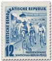 Stamp: Friedensfahrt 1952 (Radrennen)