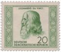 Stamp: Leonardo da Vinci (Universalgelehrter, Künstler)