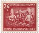 Stamp: Rohbau-Mauern (DDR Aufbauprogramm)
