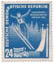 Stamp: Skisprung Oberhof 1952