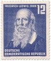 Stamp: Friedrich Ludwig Jahn (Turnvater)