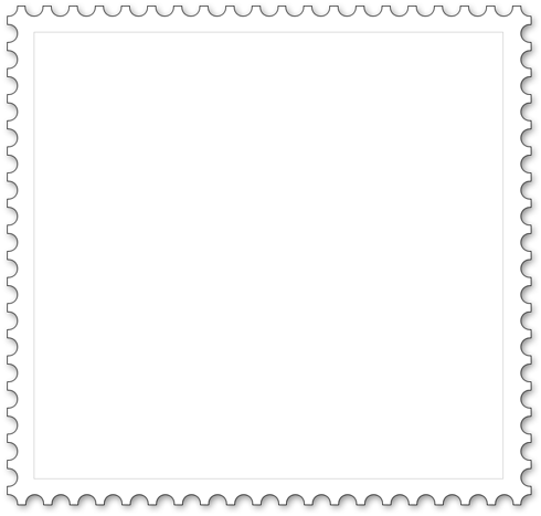 Square stamp for coloring